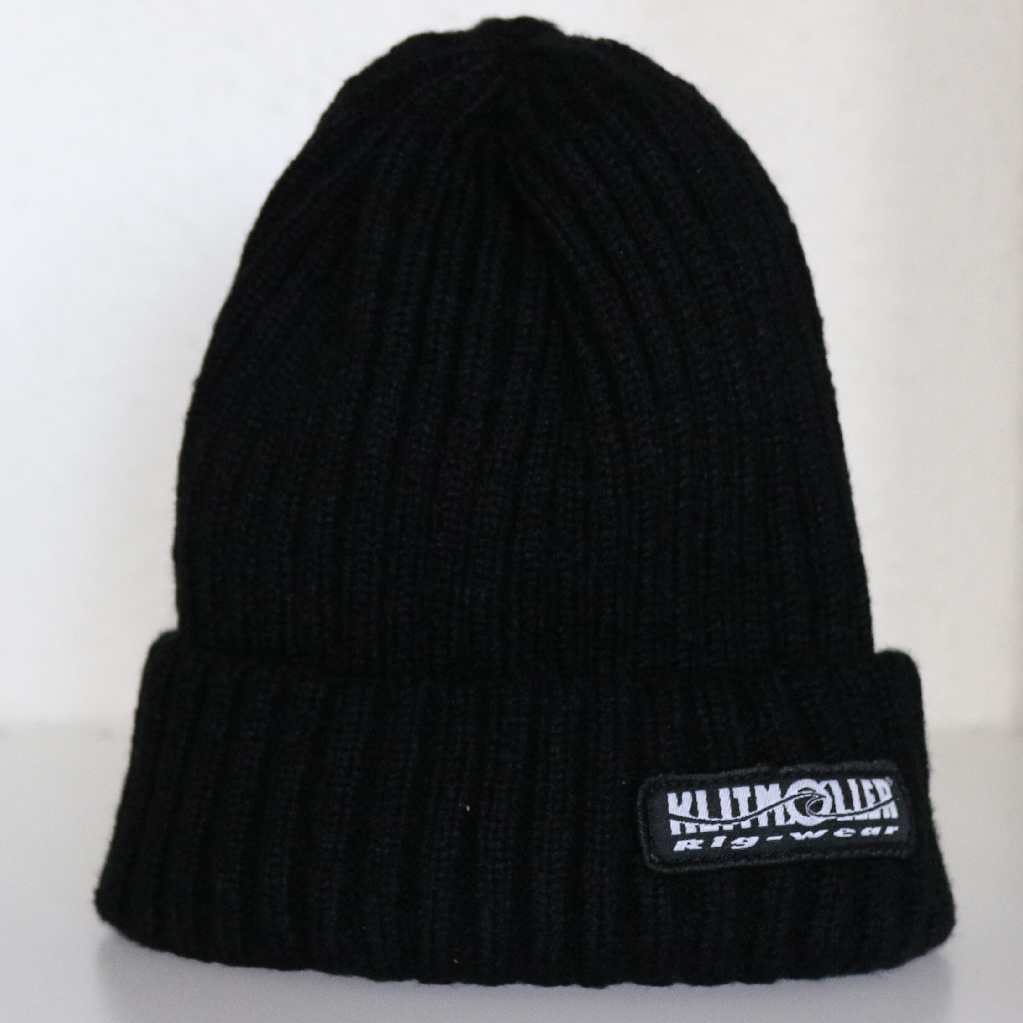 "Beanie in Cashmere wool ""Black"""