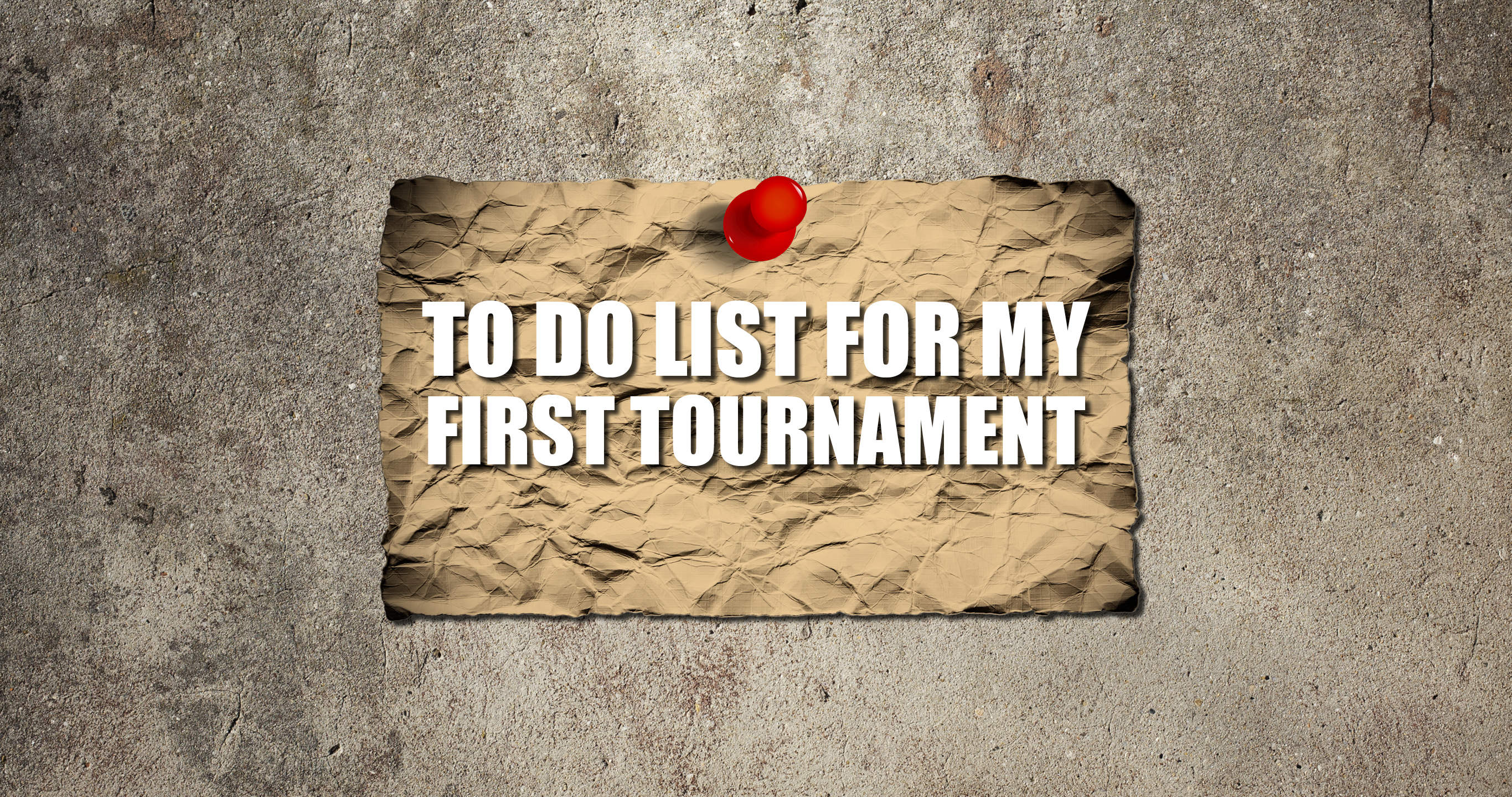 A Beginner's Guide to Tournaments