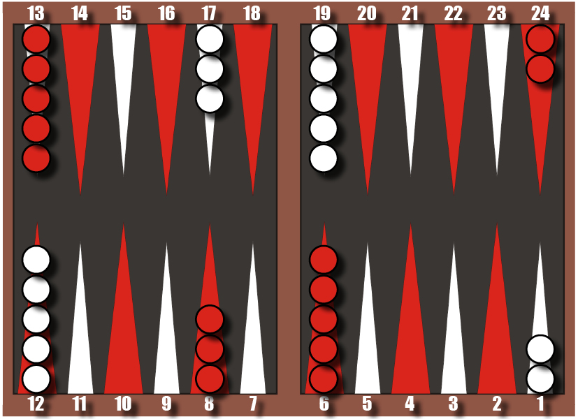 Backgammon startjpg