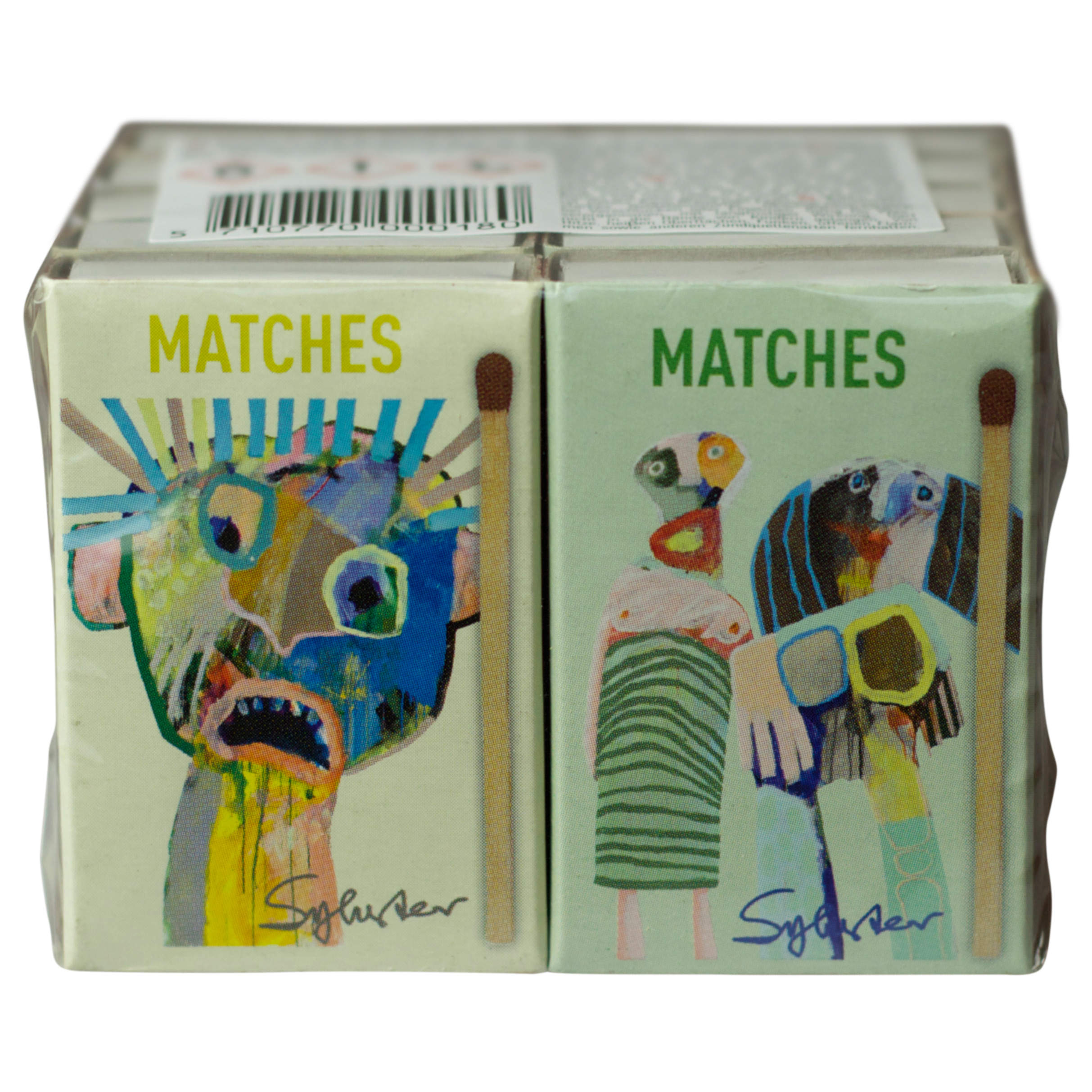 Short safety matches