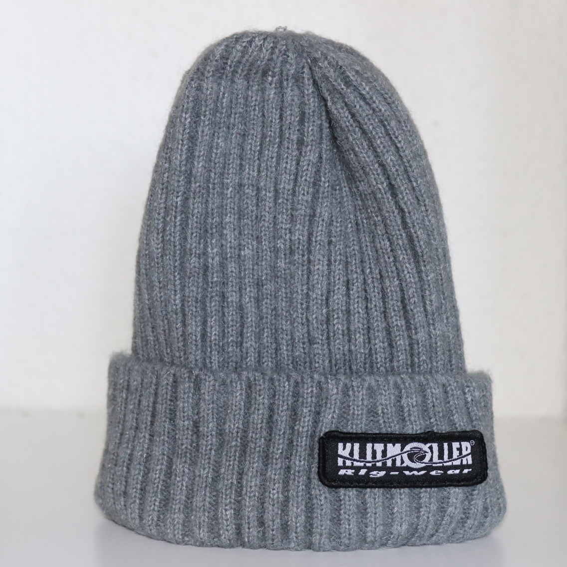 "Beanie in Cashmere wool ""Grey"""